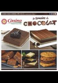 Prospectus Supermarchés Casino PARIS 352 RUE LECOURBE : La semaine du chocolat