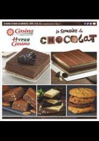 Prospectus Supermarchés Casino VILLEJUIF : La semaine du chocolat