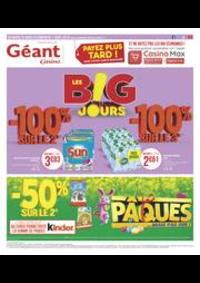 Prospectus Géant Casino SAINT MICHEL SUR ORGE : Les B!G jours
