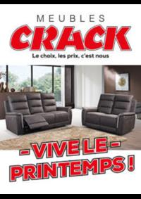 Prospectus Meubles Crack : Vive le printemps !
