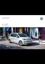 Promos et remises  : Volkswagen e-up!