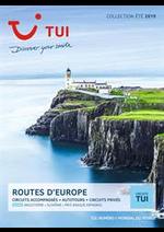 Prospectus Marmara : Routes d' Europe
