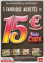Prospectus Jouets Sajou : 1 Fabrique achetée = 15€ remboursés