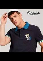 Prospectus Aigle : Polos & Shirts Homme