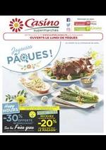 Prospectus Supermarchés Casino : Joyeuses Pâques !