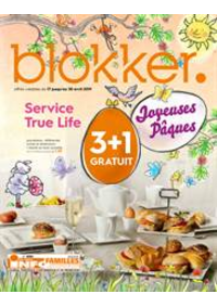 Prospectus BLOKKER Louvain la Neuve : Blokker depliant avril