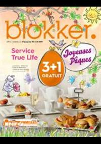 Prospectus BLOKKER Champion : Blokker depliant avril