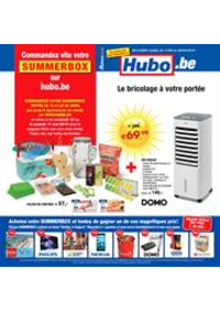 Prospectus Hubo Auvelais : Hubo Belgie Folder