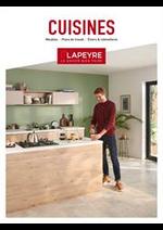 Prospectus Lapeyre : Catalogue Cuisine 2019