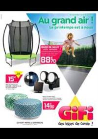 Prospectus Gifi VILLEMOMBLE : Au grand air!