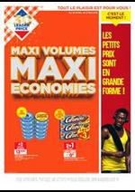 Promos et remises  : Maxi Volumes Maxi Economies