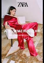 Prospectus ZARA : Summer Night SS19
