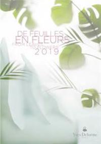 Prospectus Yves Delorme Paris : De feuilles en fleurs 2019