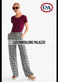 Prospectus C&A BOUGE : Les Pantalons Palazzo