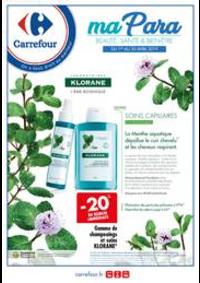 Prospectus Carrefour CHARENTON LE PONT : Parapharmacie Avril