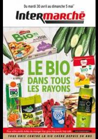 Prospectus Intermarché Super Nanterre : LE BIO DANS TOUS LES RAYONS