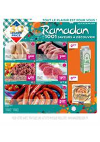 Prospectus Leader Price Chelles 63 Av. de la Résistance : Ramadan