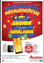 Prospectus Auchan drive : Anniversaire Mégagénéreux