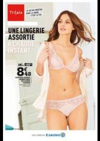 Prospectus E.Leclerc RUEIL MALMAISON : Une lingerie assortie à chaque instant