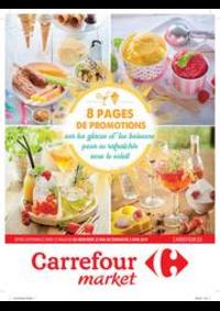 Promos et remises Carrefour Market GERAARDSBERGEN : Promotions glaces et boissons