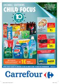 Prospectus Carrefour AUDERGHEM / OUDERGHEM : Ensemble, soutenons Child Focus