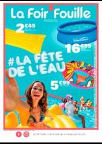 Prospectus La Foir'Fouille BRETIGNY SUR ORGE : La fête de l'eau