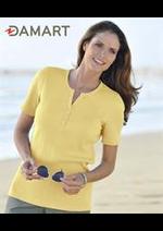 Prospectus Damart : T-Shirts Femme