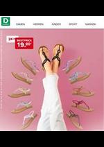 Promos et remises Dosenbach : Sandalen ab 19.90