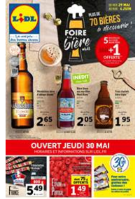 Prospectus Lidl CHAMBOURCY : Foire à la Bière