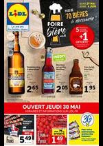 Prospectus Lidl : Foire à la Bière