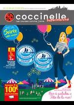 Prospectus Coccinelle : Bar à salades et Fête de la mer!
