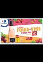 Prospectus Carrefour : FOIRE AUX VINS D'ETE