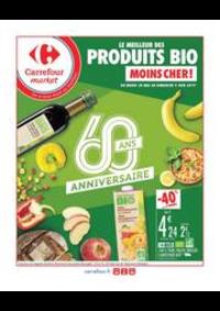 Prospectus Carrefour Market Thonon-les-Bains - Avenue Jules Ferry : Le meilleur des produits BIO moins cher !