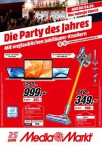 Prospectus Media Markt Basel Stücki  : Die Party des Jahres