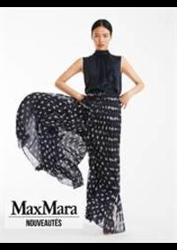 Prospectus Max Mara Paris 8 : Nouveautés