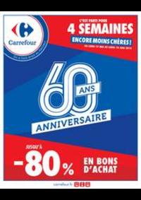 Promos et remises Carrefour Drancy : L'Anniversaire Carrefour !