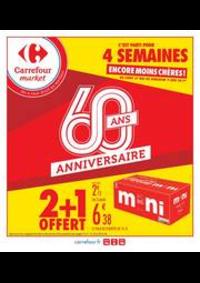 Promos et remises Carrefour Market CACHAN : 2 + 1 OFFERT