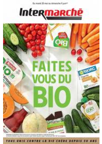 Prospectus Intermarché Super Ris Orangis : Faites vous du Bio