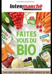 Prospectus Intermarché Super Villeneuve Saint-Georges : Faites vous du Bio
