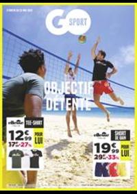 Prospectus Go Sport BELFORT : Objectif Détente