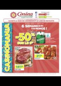 Prospectus Supermarchés Casino PARIS 16 Rue des Belles Feuilles : 6 semaines de fête et de promos !