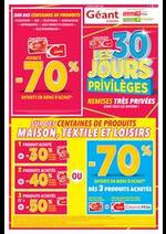 Promos et remises  : Les 30 jours Privilèges