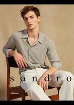 Catalogues et collections Sandro : Collection Été Homme