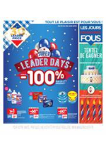 Bons Plans Leader Price : Super Leader Days