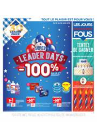 Bons Plans Leader Price : Super Leader Days