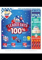 Bons Plans  : Super Leader Days