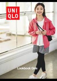 Prospectus Uniqlo Paris Opéra : Lookbook Girls