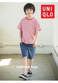 Prospectus Uniqlo So Ouest : Lookbook Boys