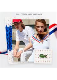 Prospectus Lacoste La Grande Motte : Collection made in France