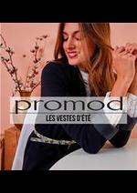 Prospectus Promod : Les vestes d'Été